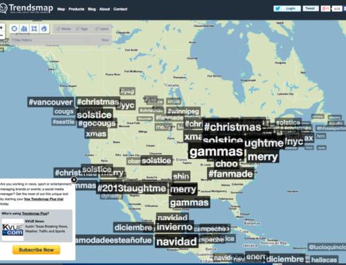 Twitter Trending Map