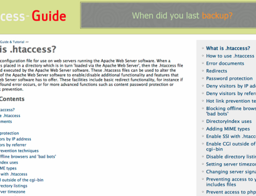 How to use HTACCESS to redirect your site to a 'maintenance page'