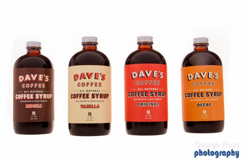 Product Photography Dave's Coffee