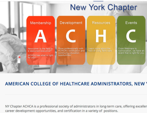 ACHCA NYC Chapter's Website Published