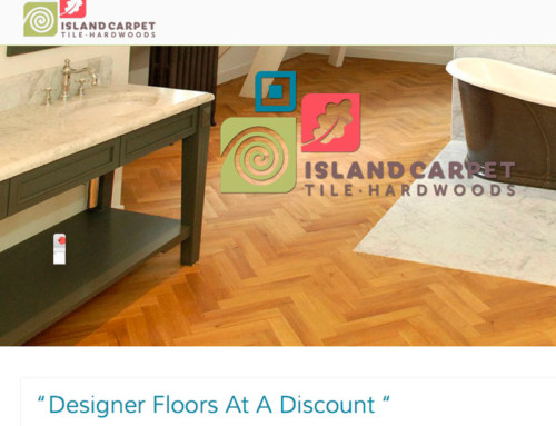Island Carpet, Tile and Hardwood WordPress Site Published