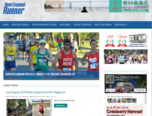New England Runner Website Redesign
