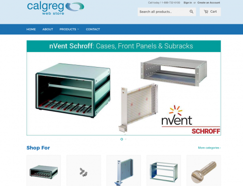 New eCommerce Store For Calgreg (Shopify)