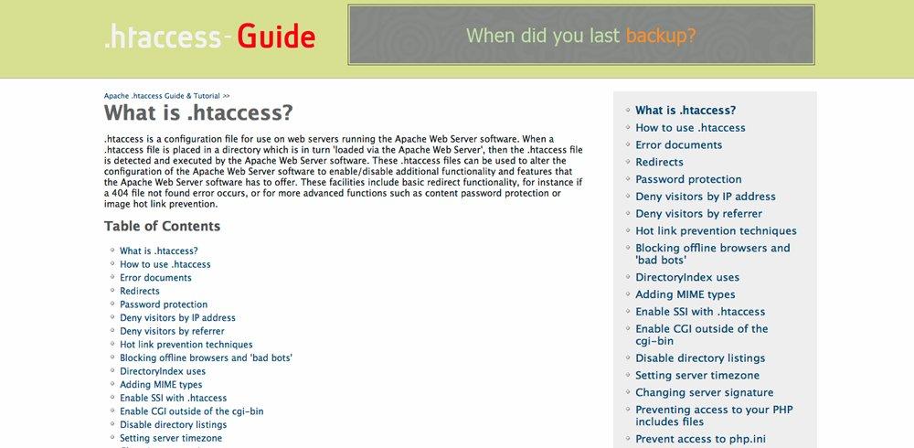htaccess-guide