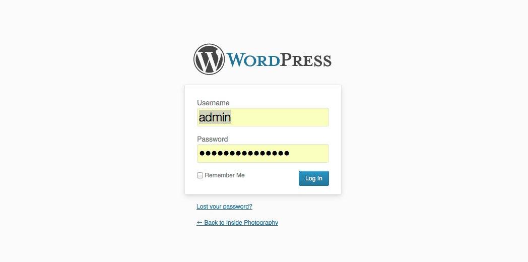 Rhode Island Wordpress design