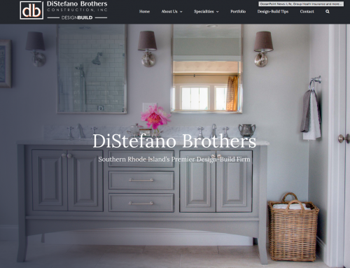Redesign of DiStefano Brother's Website (WordPress)