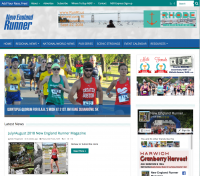 NE Runner Website Redesign