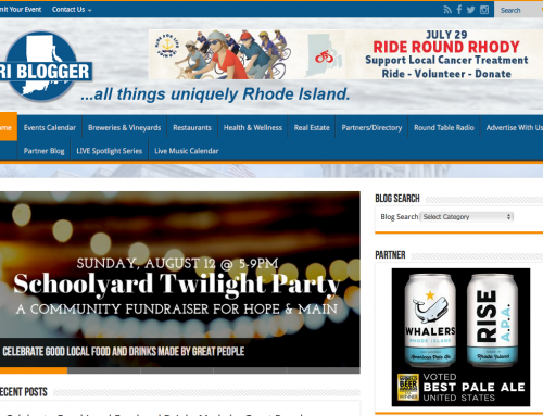 RI Blogger Website Redesign
