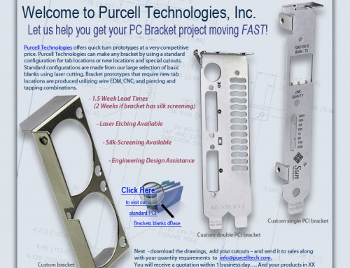Purcell Technologies Single Sheet Flyer