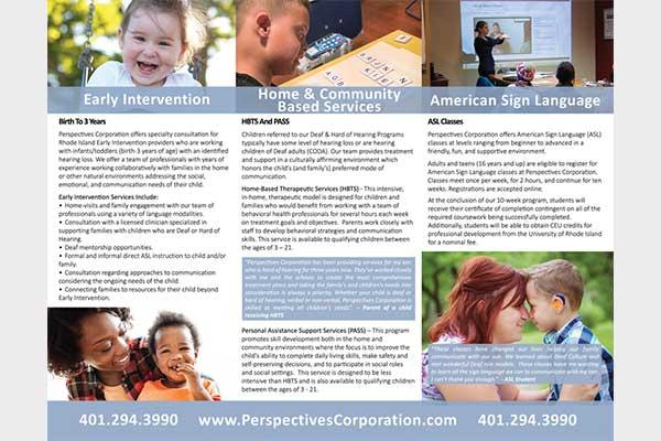 rhode island marketing services, brochures