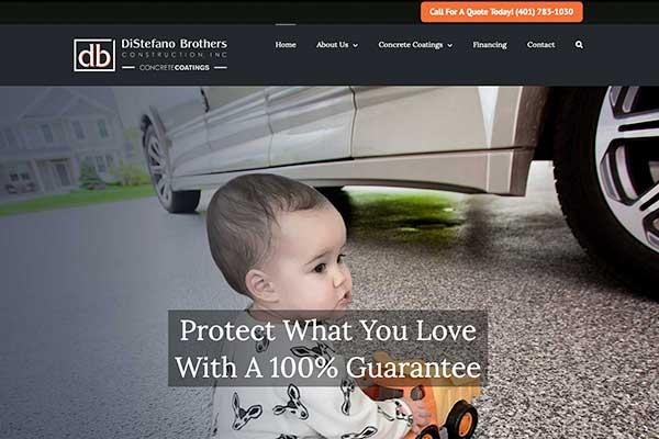 Wordpress website designer, db concrete