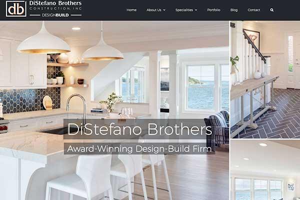 Wordpress web design, DiStefano Brothers