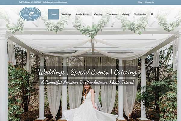 Wordpress website design, Meadowbrook Inn