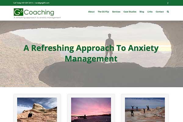 wordpress site design for a consultant