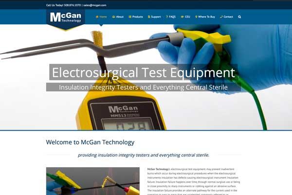 wordpress web design, McGan technology
