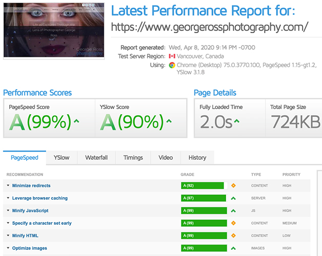 seo summary report
